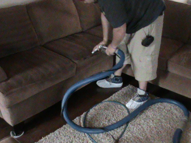 Upholstery Cleaning for Sectional Couch
